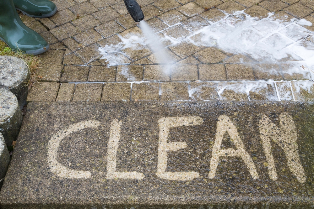 brick cleaning pressure cleaning