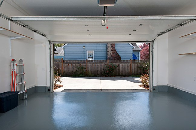 Garage floor painting services